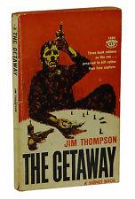 The Getaway by JIM THOMPSON ~ First Edition 1959 ~ Noir Peckinpah Film 1st Print
