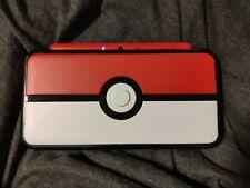 [20 GAME BUNDLE] New Nintendo 2DS XL Pokémon Pokeball Edition new 3ds compatible
