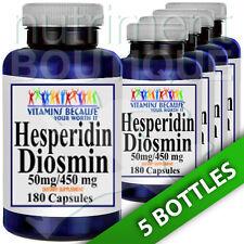 Hesperidin Diosmin 50mg/450mg 5X180 Caps by Vitamins Because