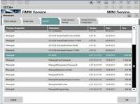 BMW ISTA-D ISTA-P Rheingold software diagnosi obd bmw diagnostic and coding