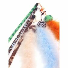 ROSEWOOD JOLLY MOGGY CAT FEATHER BOA CAT TOY