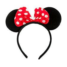Haarreifen Maus Ohren mit Schleife Fasching Karneval