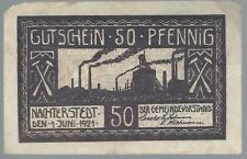 Notgeld - Gemeinde Nachterstedt - 10 Pfennig - 1921