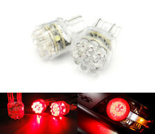 A Pair of 7443 7440 992 T20 7441 RED 15 SMD LED Brake Light Bulbs For TOYOTA
