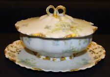 Haviland Limoges France Sauce Tureen w/ Lid Schleiger 52B