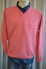 MCNEAL Herren fein Strick Pullover Gr. L Pinkrosa mit Kaschmir TOP *A562