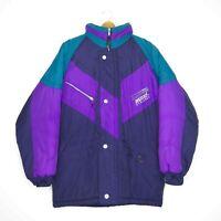 Huski Explorer Winter Ski Snow Mens Jacket Size M/97 Black Purple