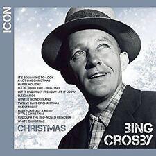 BING CROSBY - Icon Navidad - CD ÁLBUM Dañado FUNDA