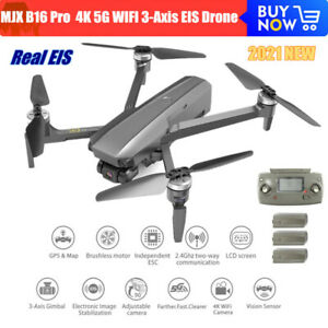 MJX B16 Pro 3-Axis EIS Camera Drone 4K 5G WIFI Brushless RC Quadcopter vs F11PRO