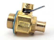 T203NS: 1-18 UNS FUMOTO ENGINE OIL DRAIN VALVE W/ NIPPLE