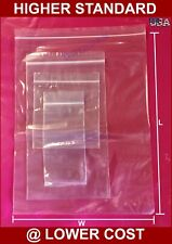 1000 ~ 2 Mil 8x10 Clear Zip Reclosable Zipper Lock Seal Poly Bag Parts Packaging
