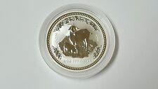 2003 Australia Year Of The Lunar Goat 2 Oz Silver Coin