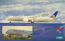 Modellismo Herpa Modellino Aereo United Airlines Boeing 787-9 Dreamliner