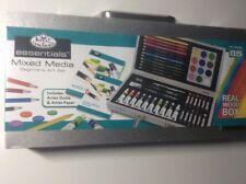 Essentials Mix Media Beginners Art set 85 pcs new!