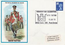 GB 1973 The Royal Regiment of wales Bath Tattoo Cover VGC