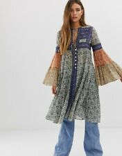 Free People Size Large NEW Music Of The Night Maxi Top NIB