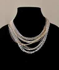RALPH LAUREN Multistrand Glamourous Necklace $78 Value Yours For $50