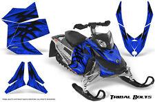SKI-DOO REV XP SNOWMOBILE SLED CREATORX GRAPHICS KIT WRAP TRIBAL BOLTS BLUE