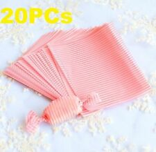 FD3831 Elegant Stripe Baking Nougat Candy Wrapping Waxed Paper Waterproof 20PC