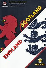 SCOTLAND v England (World Cup Qualifier Hampden Park) 2017