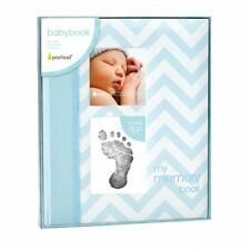 Baby Memory Keepsake Book Footprint Touch Pad Photo Album Journal Record gift