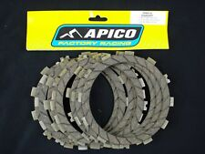 Suzuki RM125 1992-2010 Apico Clutch Fibre Plates Friction Plates FP401-8