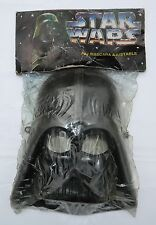 RARE STAR WARS POWER OF THE FORCE DARTH VADER MEXICAN CHILDREN MASK BLACK COLOR