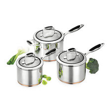 SCANPAN COPPERNOX 3 PCE SAUCEPAN SET RRP $579.00