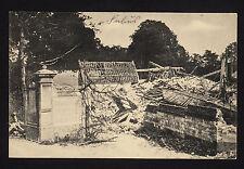 37753/ AK - 1. Weltkrieg -  Ruine der Kirche in Farbus - *