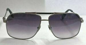 Alexander McQueen AMQ 4221/S Sunglasses 003/VK Matte Black/Gray Gradient 61mm