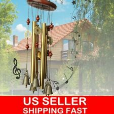 Usa Large Wind Chimes 4/12 Tube Bells Copper Church Bell Outdoor Garden Decor