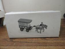 Dept 56 River Street Ice House Cart #59595
