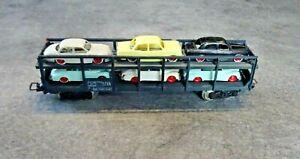jouef HO 1/87 wagon porte-autos SNCF réf. 654 noir (D)
