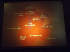 Great Lakes, National Geog filmstrip / tape/guide