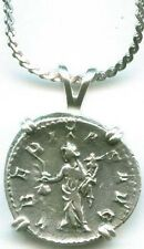 Silver Roman Denarius (Coin) Emperor Decius Agricultural Fertility Goddess AD249