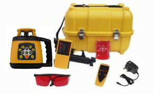 Fukuda FRE 301 Rotary Laser Level Set - Receiver, Remote Control & NiMH Battery