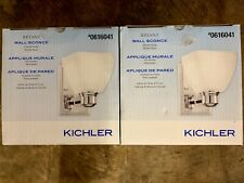 2 Kichler Bryant Wall Sconce Chrome Finish Model 37384 - New,