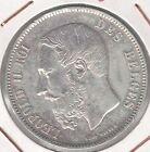 C.R 0278 MONEDA DE PLATA BELGICA 5 FRANCOS 1873