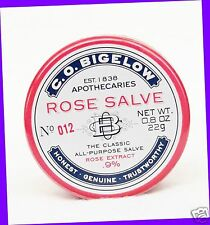 1 Bath & Body Works ROSE SALVE Lip Balm Chap Chapped Knees Hands Cuticles Elbows