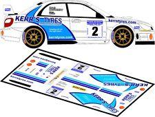 DECALS 1/43 SUBARU IMPREZA WRC- #2 - McGARRITY -RALLYE LURGAN PARK 2010 - D43150