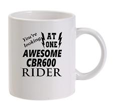 Awesome CBR600 Rider Mug New Funny Birthday Gift Dad Honda