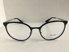 New PRADA VPR 53T Black 52mm Round Women Eyeglasses Frame #8