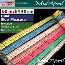 Body Measuring Ruler Sewing Cloth Tailor Tape Measure Soft Flat 60