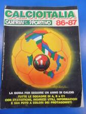CALCIOITALIA 86-87 GUIDA SQUADRE DI CALCIO A B C1 GUERIN SPORTIVO 1986