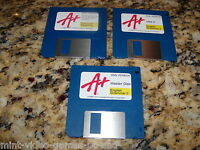 A PLUS English Grammar II & Computer Parenting (DOS Version) 3.5 floppy disks