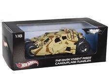Hot Wheels Heritage 1/18 Dark Knight Rises Camo Tumbler Mattel