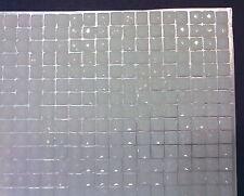 100 STRASS QUADRATI ADESIVI COLORE BIANCO 4 mm CORPO UNGHIE NAILART DECORAZIONI