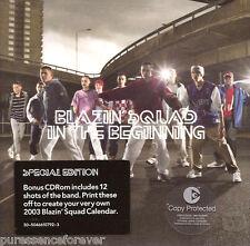 BLAZIN' SQUAD - In The Beginning (UK Special Ed 11 Trk CD Album/Bonus CD-ROM)