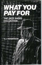 WHAT YOU PAY FOR by Henderson, rare US Gryphon hard crime pulp noir 1st trade pb