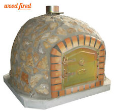 brick outdoor wood fired Pizza oven 90cm x 90cm  Deluxe-stone model